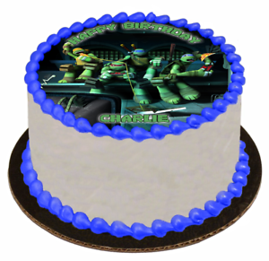 EDIBLE-CAKE-TOPPER-Image-Icing-Sheet-Teenage-Mutant-Ninja-Turtles-TMNT