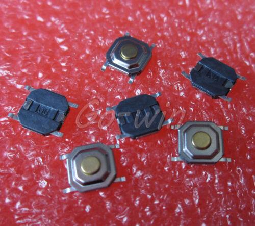 100PCS SMD SWITCH 5.2mm x 5.2mm x 1.5  Tact Switch NEW