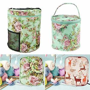 Knitting-Yarn-Storage-Bag-Case-Crochet-Hooks-Thread-Sewing-Kits-Organizer-Bags