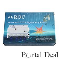 CABLE TV CATV AMPLIFIER SHAW SIGNAL BOOSTER UHF VHF DVR