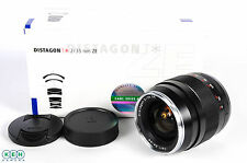 Zeiss 35mm F/2 Distagon ZE T* (Manual Focus) Lens For Canon EF Mount {58}