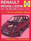 Renault Megane and Scenic (99-02) Service and Repair Manual by P. Gill, A. K. Legg (Hardback, 2002)