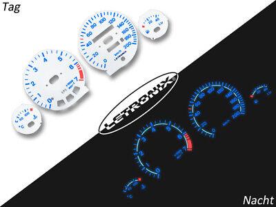 LETRONIX Plasma Tacho Tachoscheiben f/ür Auto Astra G Zafira A 0-220Km//h 7000U//Min