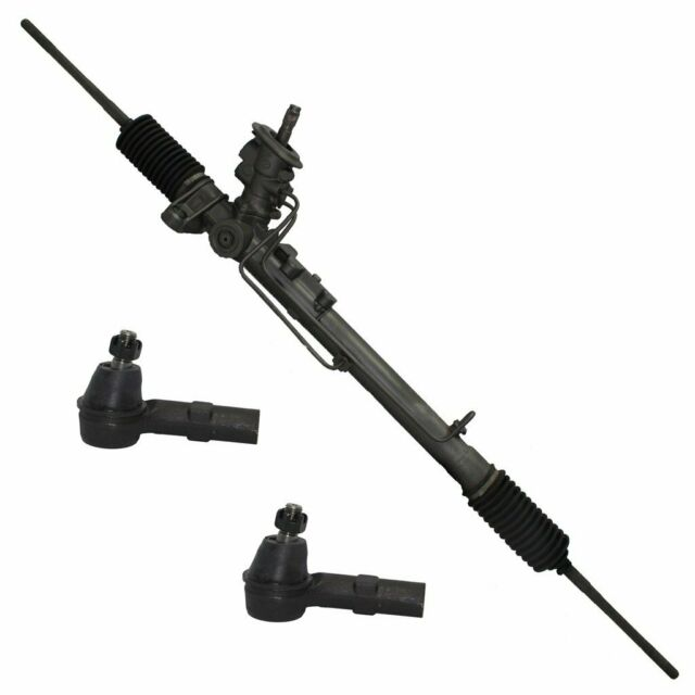 Power Steering Rack+2 Outer Tie Rods For ACURA TL 2002