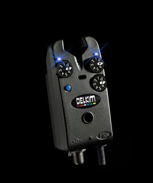 Delkim Tx-i Plus Electronic Bite Alarm - - Alarm Blau / TXI Indicator / Carp Fishing cafeca