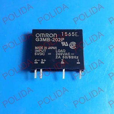 DC5V DIP-4 G3MB-202P-5VDC G3MB-202P-DC5 G3MB-202P-5V 1PCS  RELAY OMRON SIP-4
