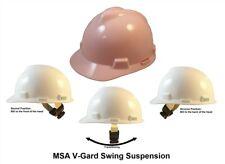 Msa V Gard Cap Style Hard Hat Light Pink