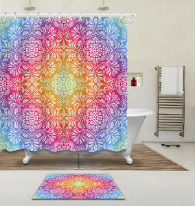 Image Is Loading 72 79 034 Mandala Hippie Gypsy Style Bathroom