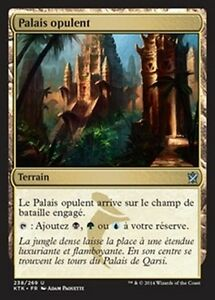 MTG Magic KTK - (4x) Opulent Palace/Palais opulent, French/VF