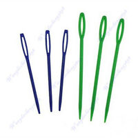 6pcs 2 Sizes Plastic Hand Yarn Darning Sewing Tapestry Needles Notions Craft New