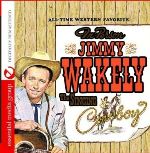 Jimmy Wakely - The Singing Cowboy [New CD] Manufactured On Demand, Rmst