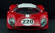 Ferrari Vintage 24 Race Sport Car Rare Exotic 12 GT F 43 Racer 1 18 Carousel Red