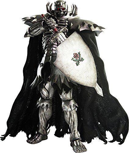 New Berserk Skull Knight 1  6 skala ABS och PVC Målat flygagattbkonst Figur TREZERO