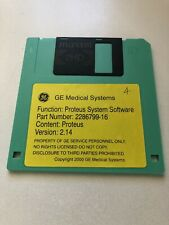 Ge Medical Systems Proteus System Software On Floppy Disk Ver214 2286799 16