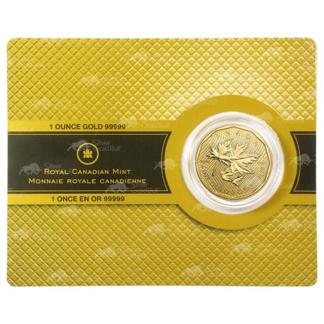 1 oz Random Year 99999 pure Canadian Maple Leaf Gold Coin