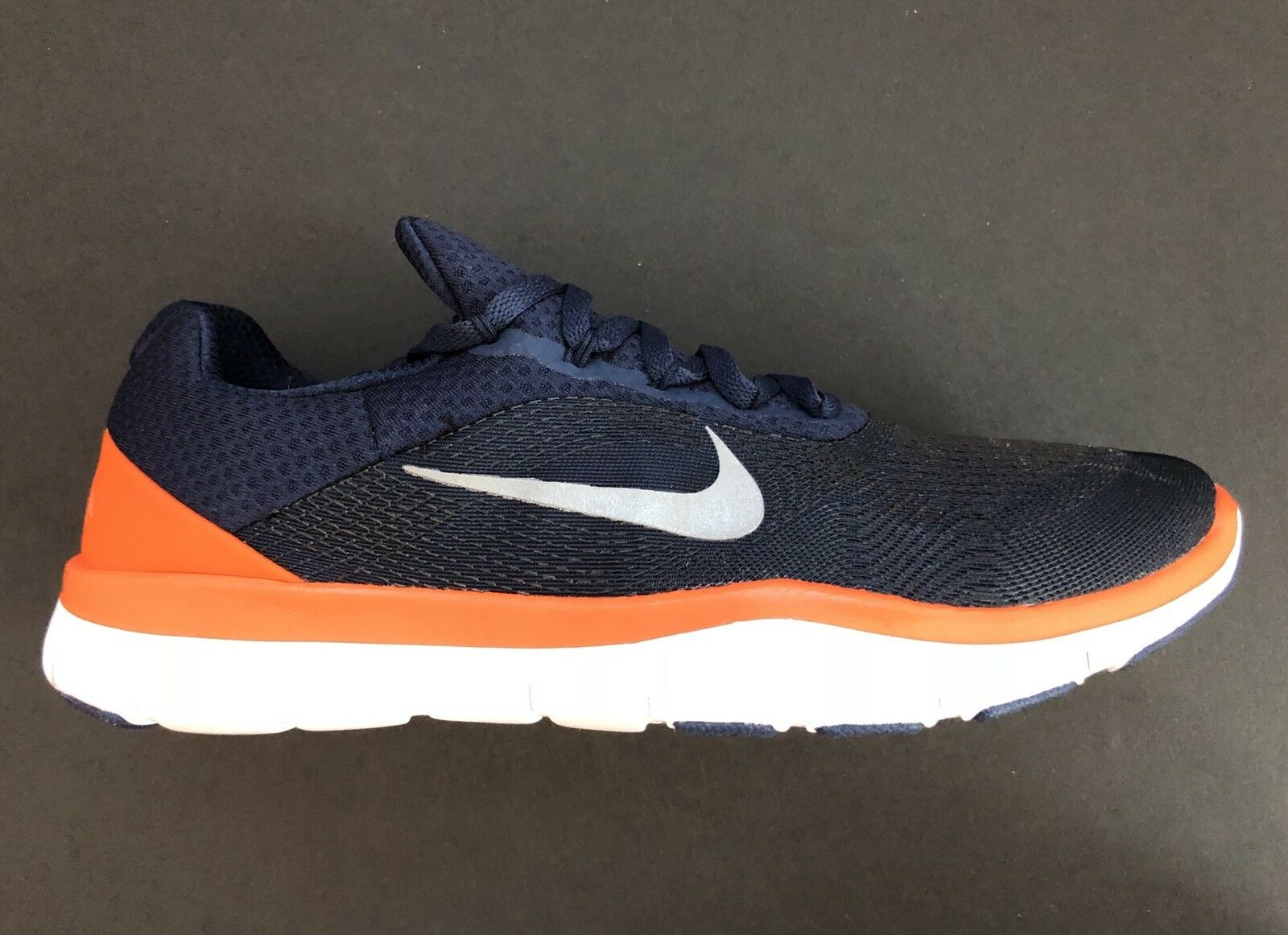 Nike Denver Broncos Free Trainer V7 Ltd Edition AA1948-401 shoes Size Men's 14