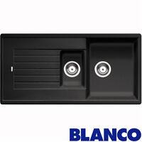 Blanco Zia 6s 1.5 Bowl Anthracite Black Silgranit Granite Kitchen Sink