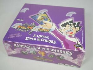 Duel-Masters-Rampage-Of-The-Super-Warriors-DM-03-Booster-Box-Sealed-Mint