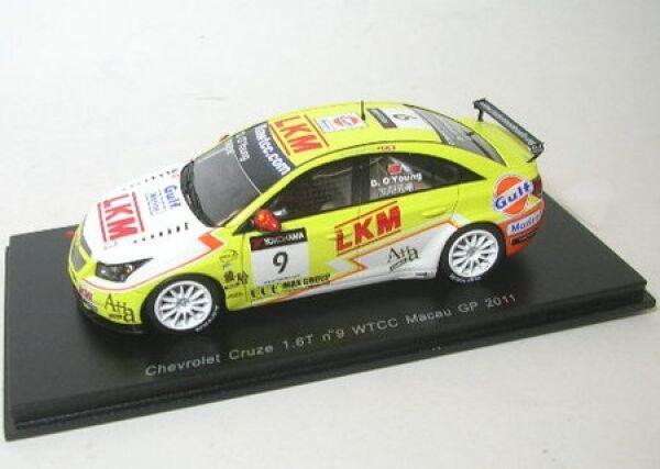 CHEVROLET Cruze 1.6t No. 9 wtcc Macao GP 2011