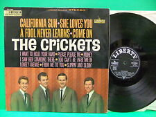 The Crickets California Sun 1964 German Import LP Buddy Holly Liberty SML 83842