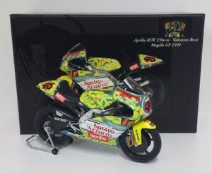 Valentino Rossi Minichamps 1/12 de Moto Avril Rsw 250cc GP Mugello 1999 Rare