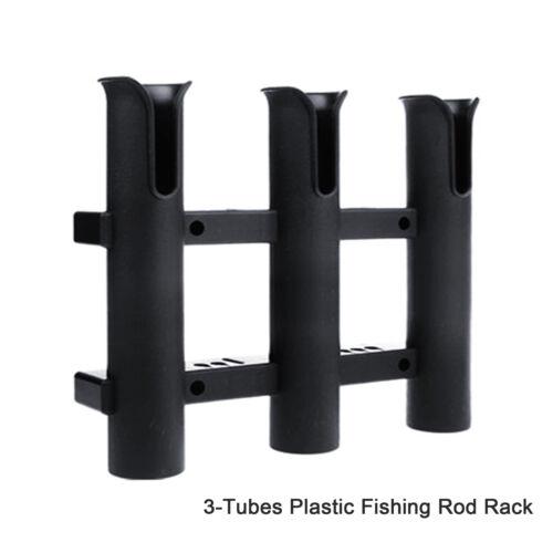 3 Rod Holder Rack Tube Rest Mount Bracket For  Boat Kayak Fishing Outdoor N0A5