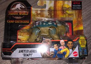 Mattel Jurassic World Ankylosaurus Bumpy Camp Cretaceous Figure SEALED