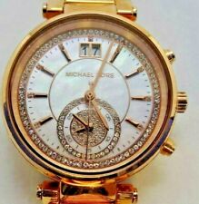 80537eba51fe item 2 Michael Kors MK6282 Women s Rose Gold Tone Analog Watch Size 6 3 4