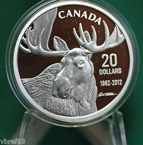 2012-Canada-20-Bateman-Bull-Moose-Coin-99-99-silver