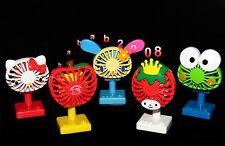 Yujin Sanrio Hello Kitty figure wind up fan toy Gashapon (full set of 5 figures