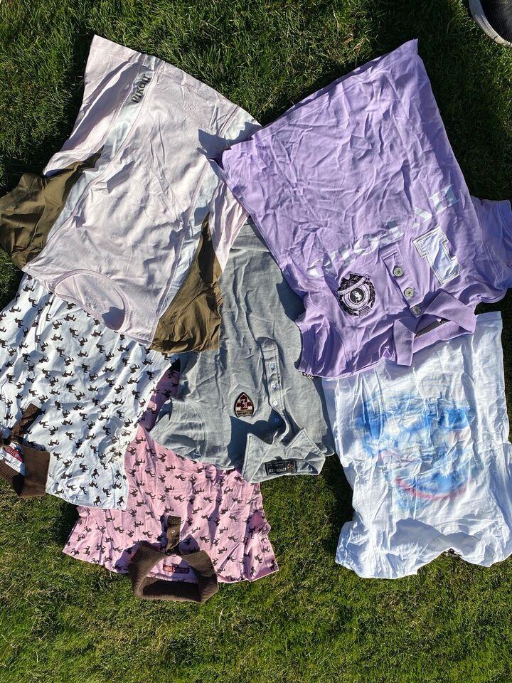 Ridebukser, Ridebukser ridejakke t-shirts , str. S/m