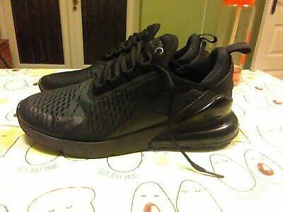 Détails sur Nike Air Max 270 Baskets, en couleur noir en taille 8,RRP £ 115. afficher le titre d'origine