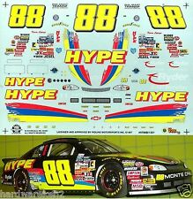 NASCAR DECAL #88 HYPE ENERGY DRINK 1997 BGN MONTE CARLO KEVIN LePAGE SLIXX