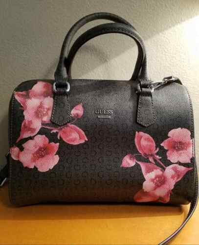 Shoulder Authentic Black Purse Tote Purse con bolso Auténtico Black Bag Tote Guess bandolera Guess a4Bng07