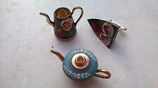 Miniature Narrow Boat Barge Ware Canal Art Folk Style items