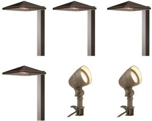 Low Voltage Led Light 6 Pack Outdoor
