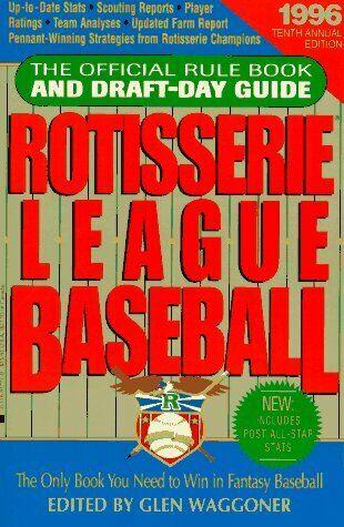 Rotisserie League Baseball  1996  The Official Rule Book and Draft-Da