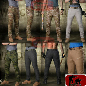 Mens-Tactical-Pants-Combat-Army-Outdoor-Cargo-Military-Casual-Trousers-MC-Camo