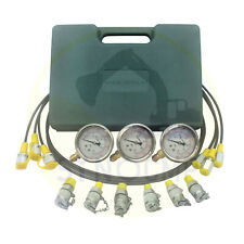 254060mpa 3 Gauge 6 Adapter Hydraulic Pressure Test Kit For Common Excavator