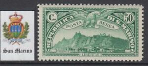 SAN-MARINO-1931-MNH-Air-Mail-set-cv-160-Sassone-n-A1