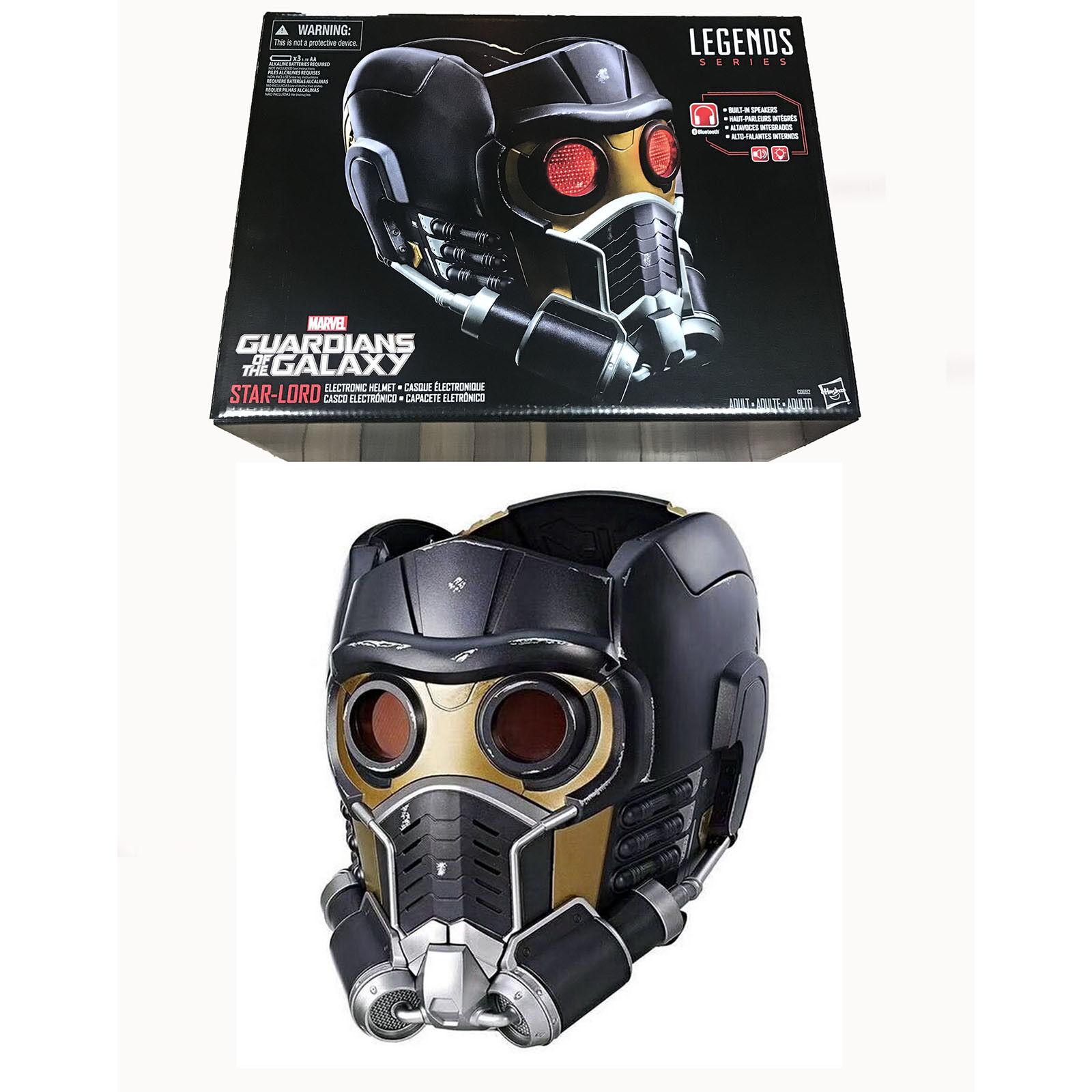 Marvel Legends Estrella-Lord Electronic Helmet Guardians Galaxy Natale Regalo Casco
