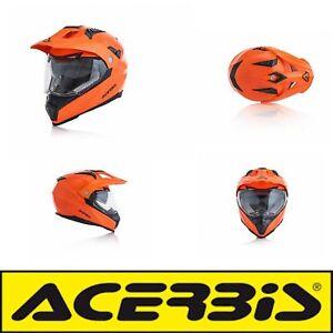 Acerbis casco flip fs-606 arancio fluo m