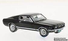 Ford Mustang GT Fastback 1967 - schwarz - 1:43 Ixo Premium X