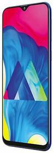 """New Samsung Galaxy M10 Unlocked Dual SIM-6.22"""" HD+ Display-2GB RAM-Ocean Blue"""