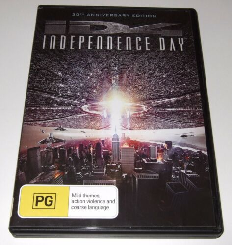1 of 1 - Independence Day - 20th Anniversary Edition (DVD, 2016)