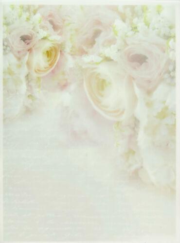 Printed Translucent Vellum Scrapbook  Paper A//4 Roses