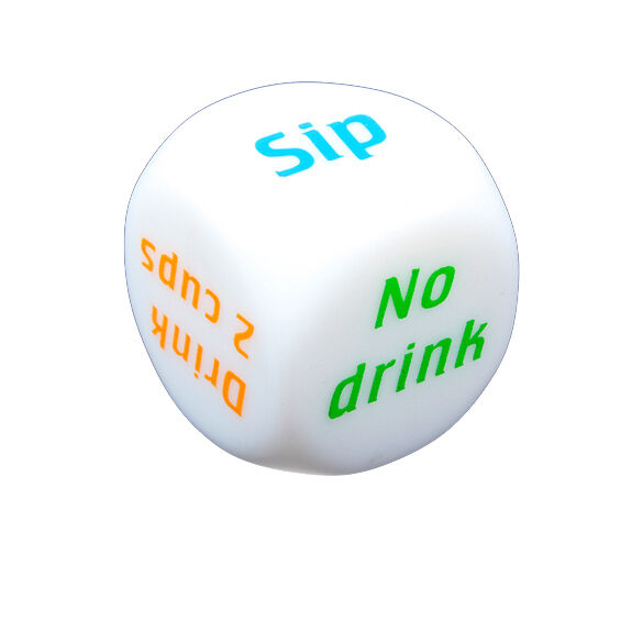 Drink Decider Die Games Bar Party Pub Dice Fun Toy