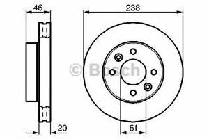 Paar-Bremsscheiben-BOSCH-0986478275-Renault