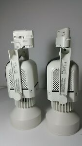 Details About Untested Set Of 2 Erco Track Lighting Lights Lamps Ar111 Type 72pa Fit