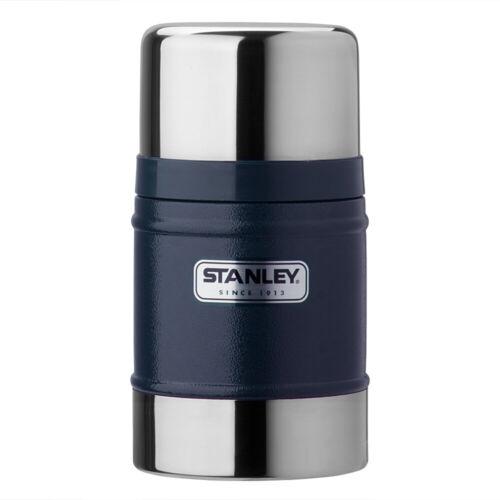 STANLEY BLU NAVY cibo in acciaio inox pallone confezioni 0.5ltr INFRANGIBILE zuppa calda